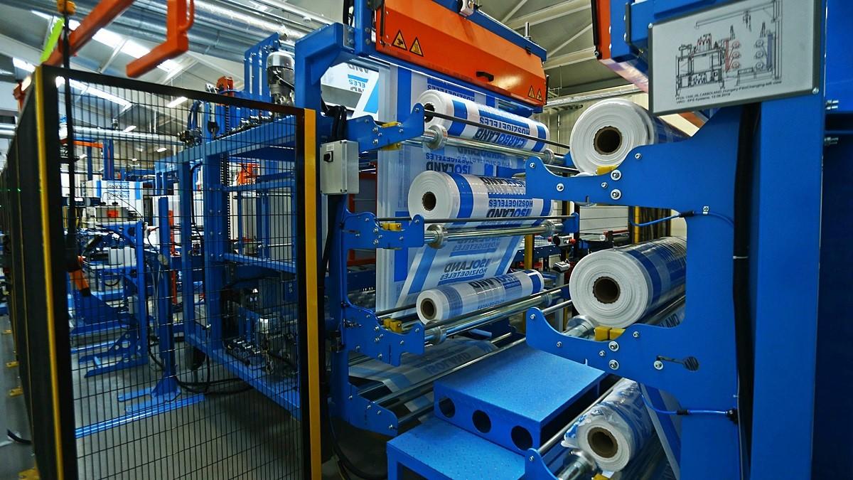 Világszínvonalú fejlesztés Szegeden, EPS hőszigetelő anyag gyárat bővített a Bodrogi Bau Kft.