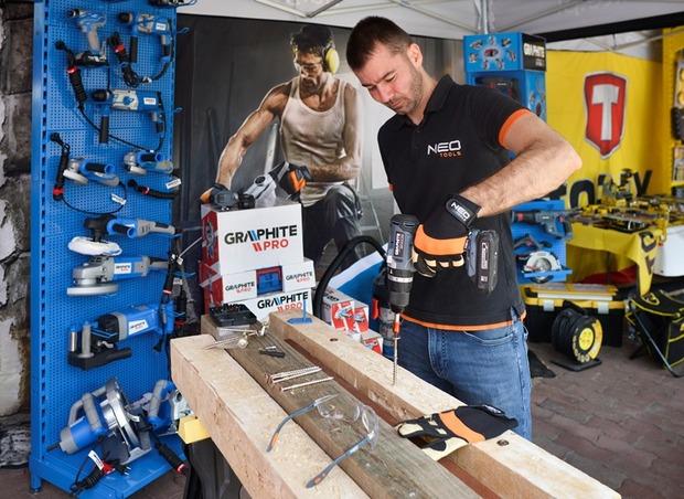 Építkezők Napja a vásárhelyi Bodrogi Baunál