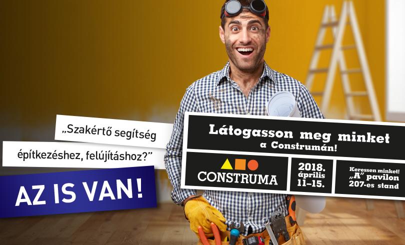 """""""Construma kiállítás?"""" AZ IS VAN!"""