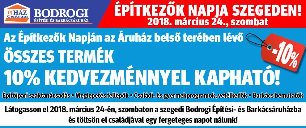 Építkezők Napja Szegeden!